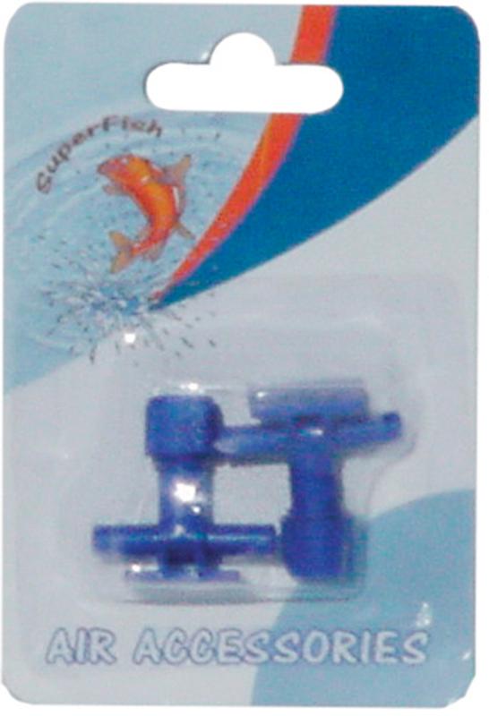 Superfish - luchtslang kraan blister blauw 2 st