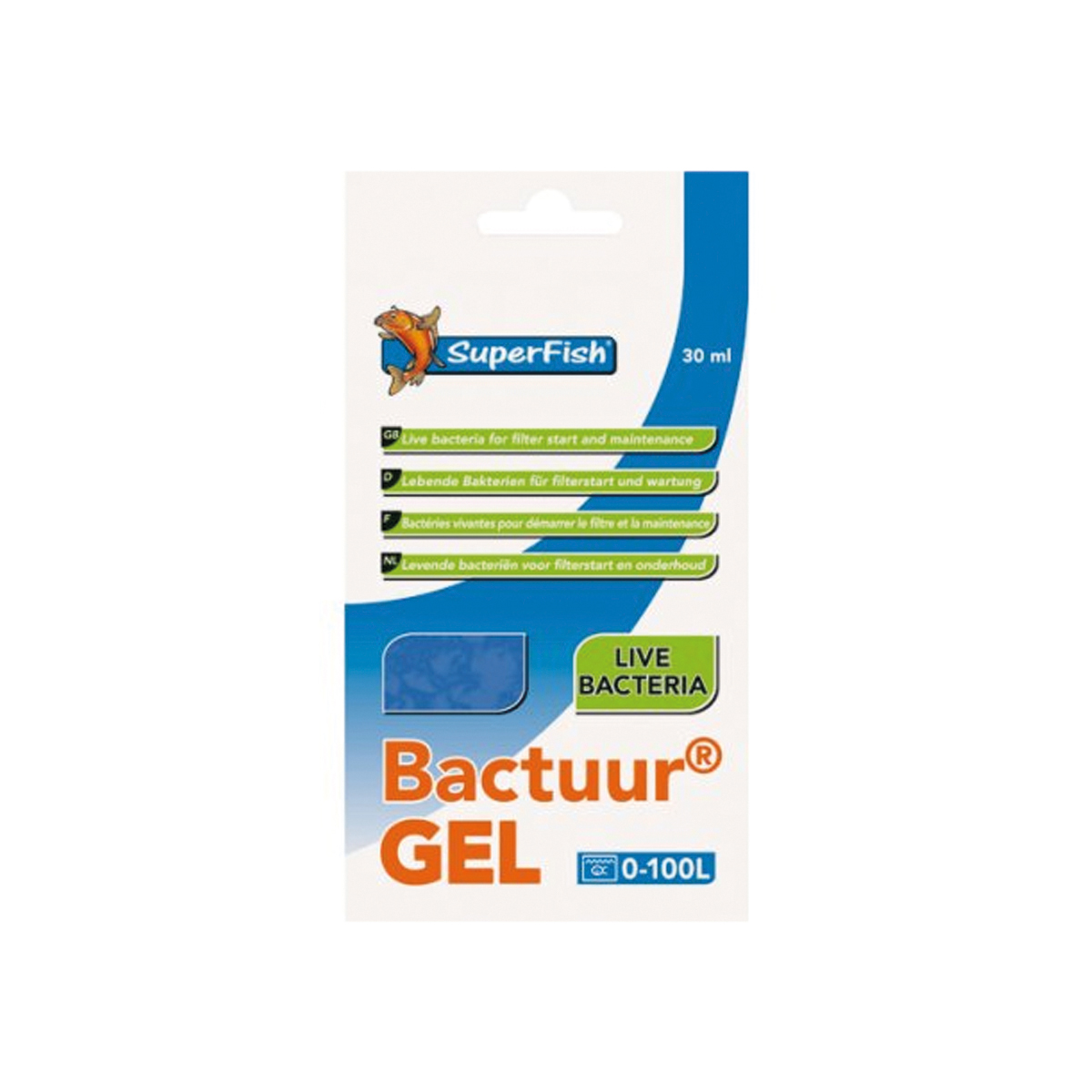 SF BACTUUR GEL FILTER BACTERIA J 00001