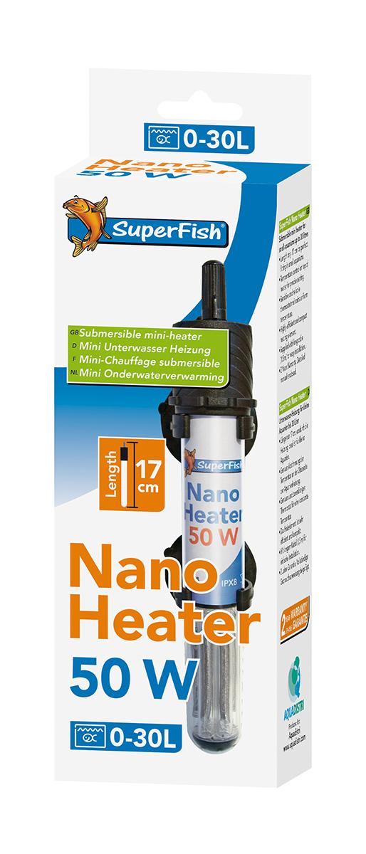 Nano heater meerkleurig