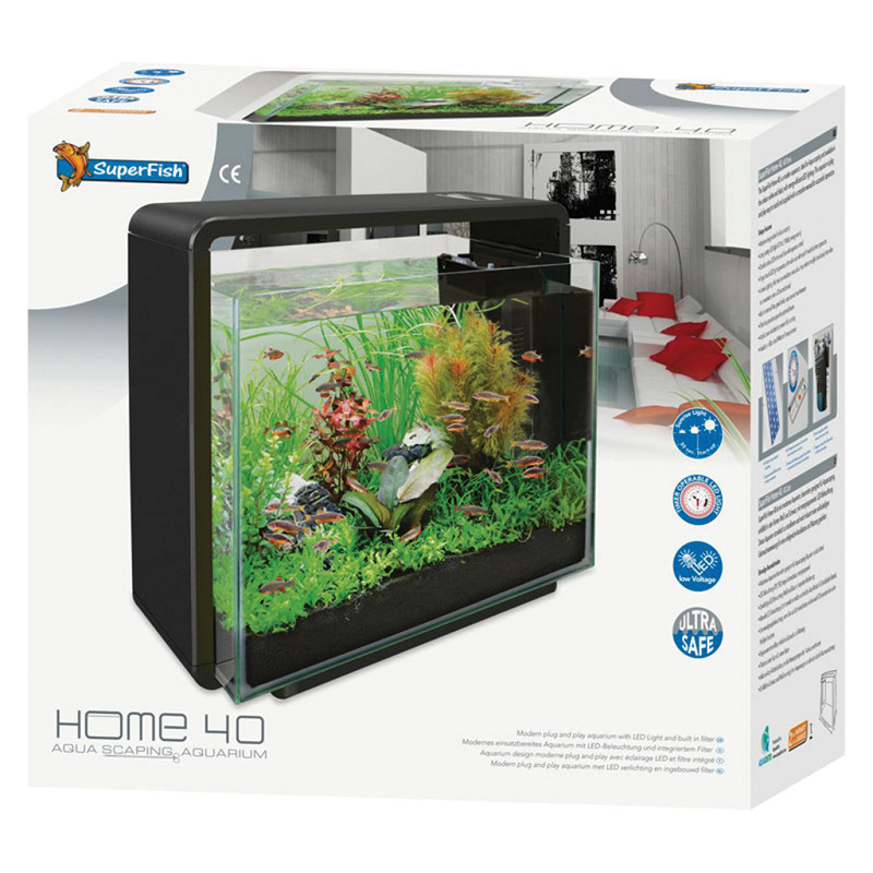 SF HOME 40 AQUARIUM ZWART N 00001