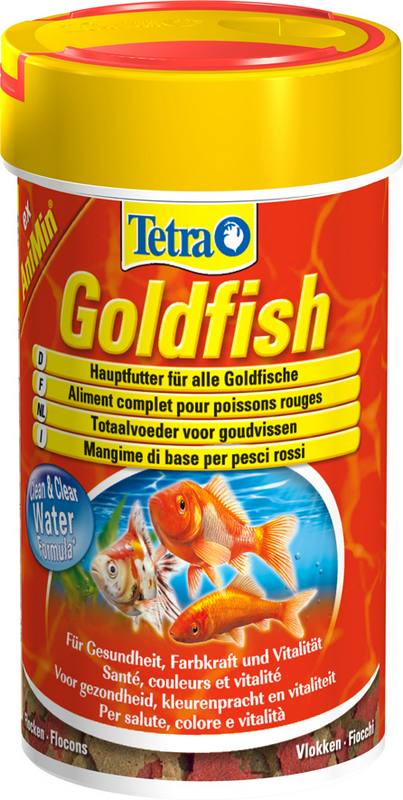 ANIMIN VLOKKEN GOLDFISH 100ML J 00002