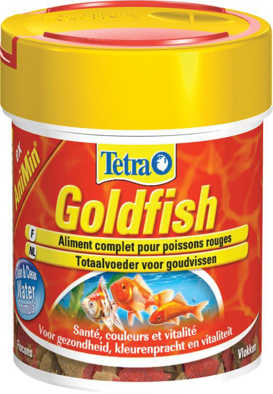 Tetra - animin goudvisvlokken meerkleurig 1 ltr