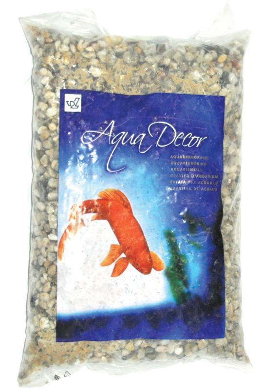 Productafbeelding voor 'Aquariumgrind grijs 10 kg'