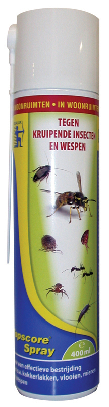 TOPSCORE KRUIPEND INSECT 400ML N 00001
