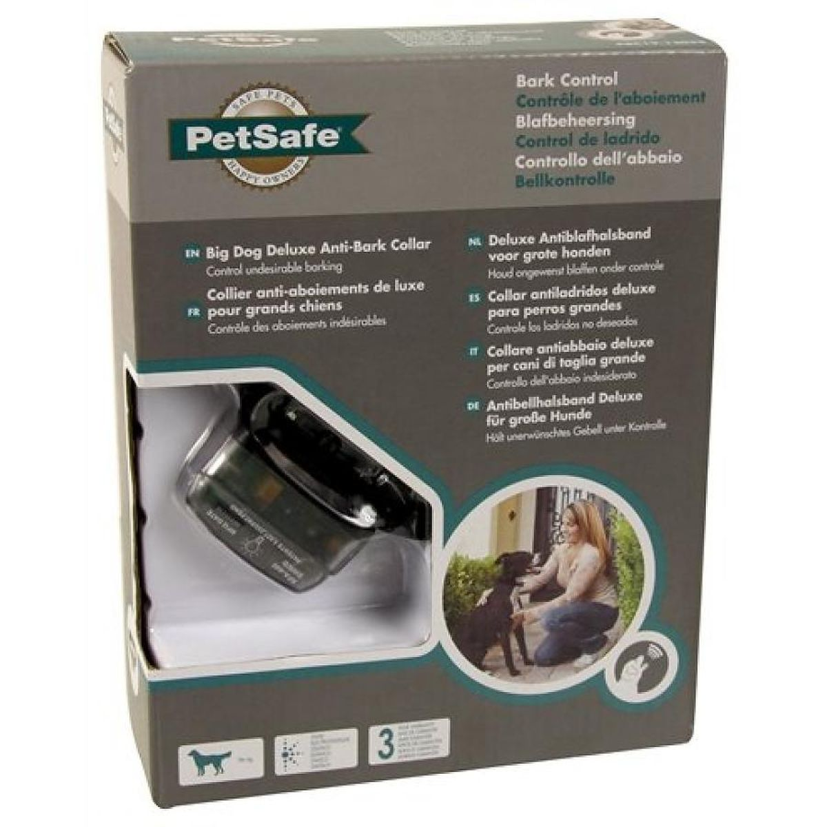 Petsafe blafband deluxe voor grote honden