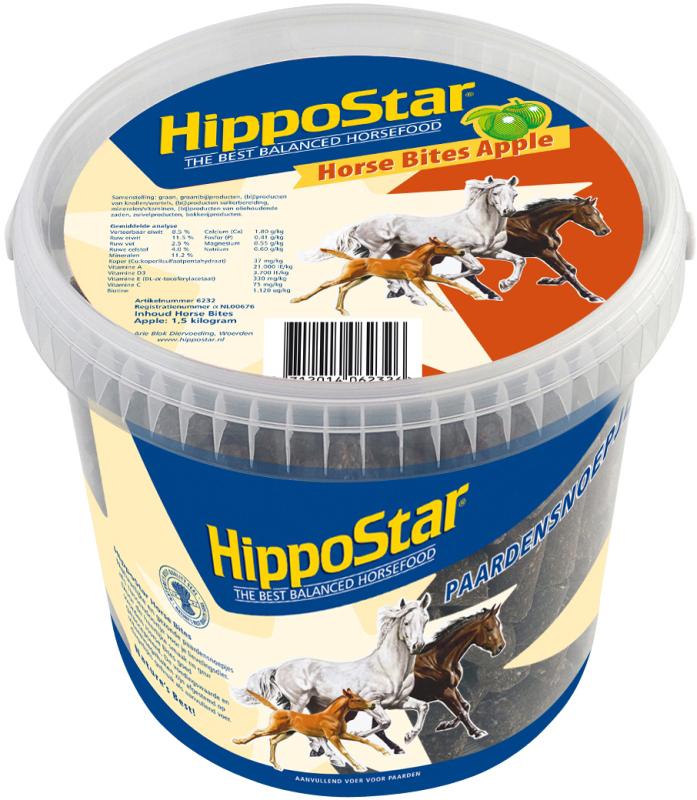 Productafbeelding voor 'Hippostar - horse bites trio meerkleurig 1,5 kg'