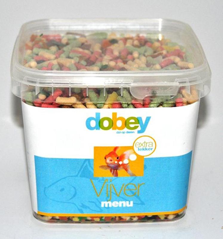 Dobey - vijvermenu 1.2 ltr