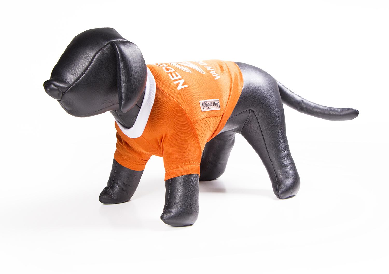 Doggy fun - oranje shirt nederland meerkleurig