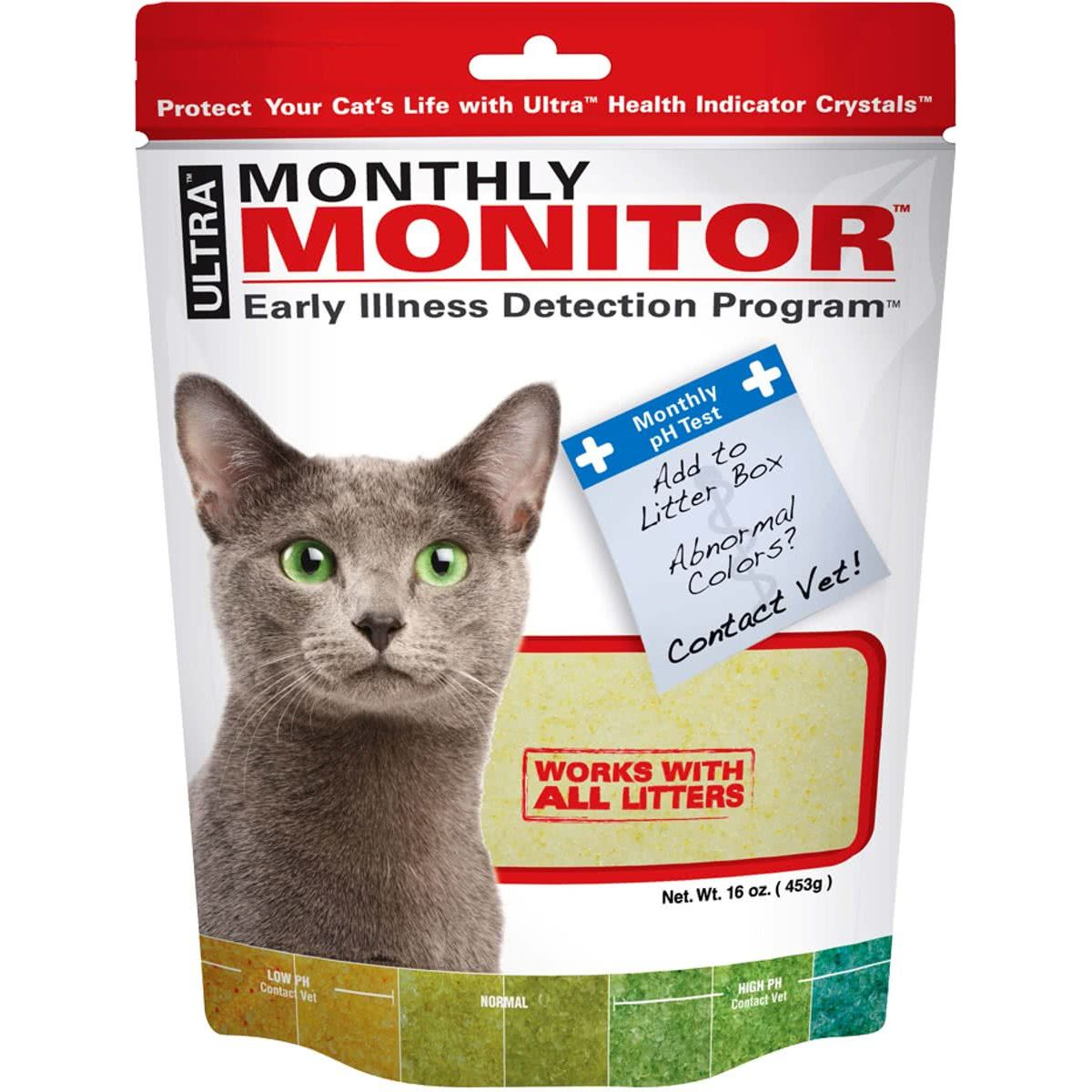 Ultra monthly monitor 453 gr