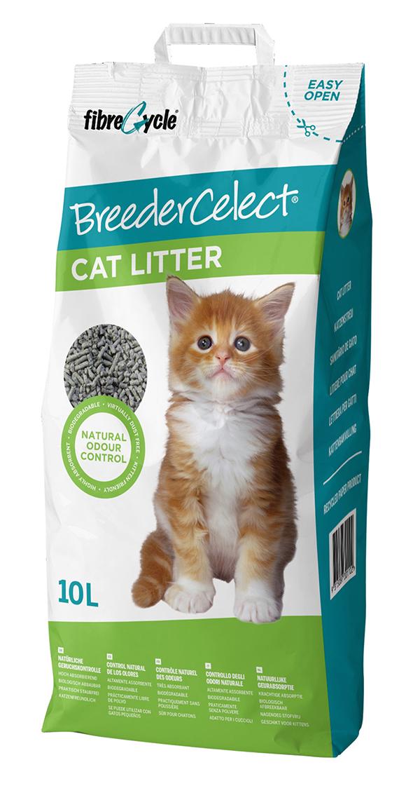 Breeder celect - kattenbakvulling 10 ltr