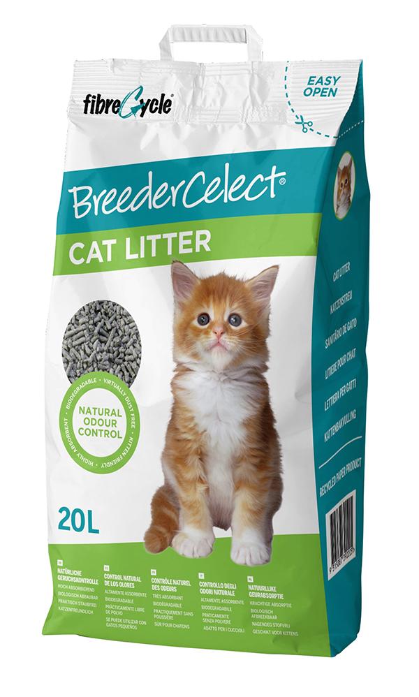 Breeder celect - kattenbakvulling 20 ltr
