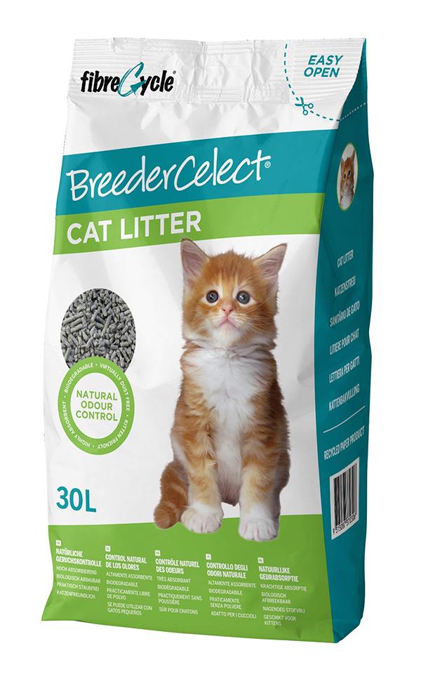 Breeder celect - kattenbakvulling 30 ltr